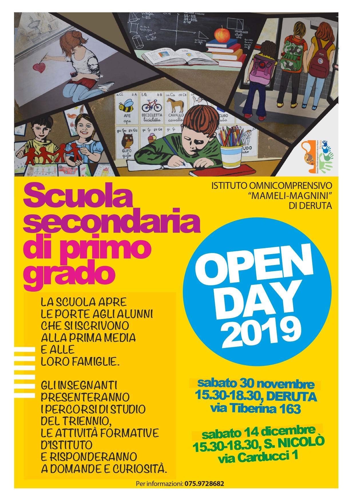 Open day 2019 - Scuola media